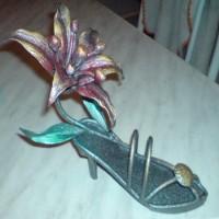 «Туфелька» с лилией
