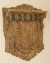 Вешалка (дерево под старину)