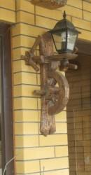 Светильник (дерево под старину) 1