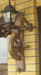 Светильник (дерево под старину) 2